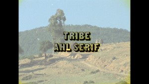Title board fo the original Tribe Ahl Serif  film 1972