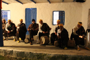 Jarvis Cocker with Master Musicians of Joujouka photo Neil McCarthy all rights reserved