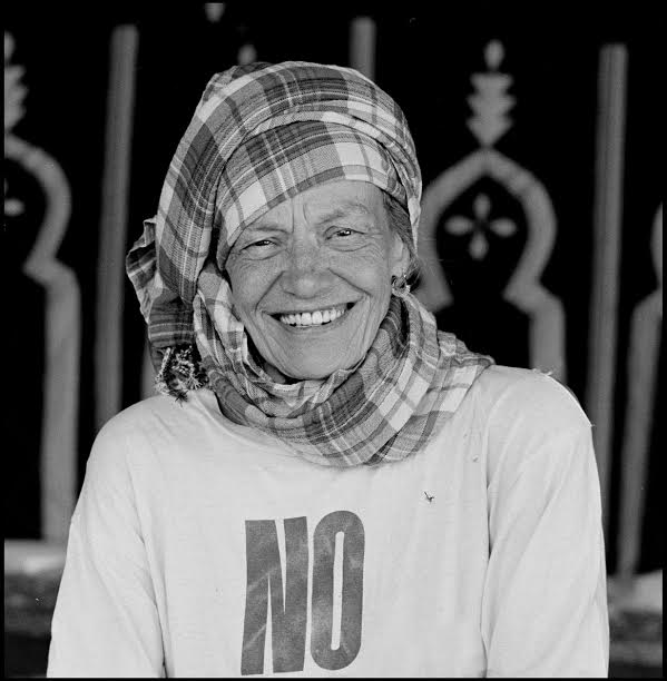 Anita Pallenberg in Joujouka July 20008 as guest of honor at the Master Musicians of Joujouka Brian Jones 40th Anniversary Festival, Photo by Jill Furmanovsky. All Rights reserved