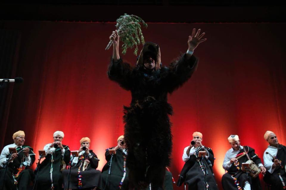 Master Musicians Of Joujouka live in Japan at Festival de Frue.