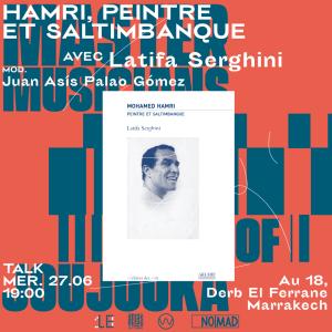 Atlas talk Hamri w Latifa Serghini 27 6 18 poster