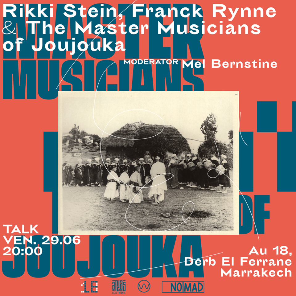 Atlas talk MMOJ w Frank Rynne + Rikki Stein 29 6 18