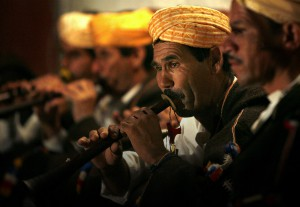 Master Musicians of Joujouka playing in the village